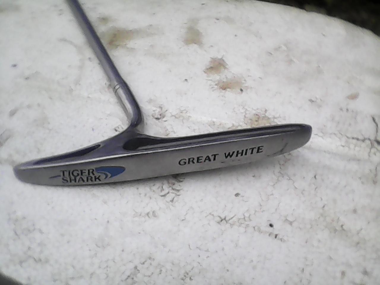 Tiger shark putter Graet White