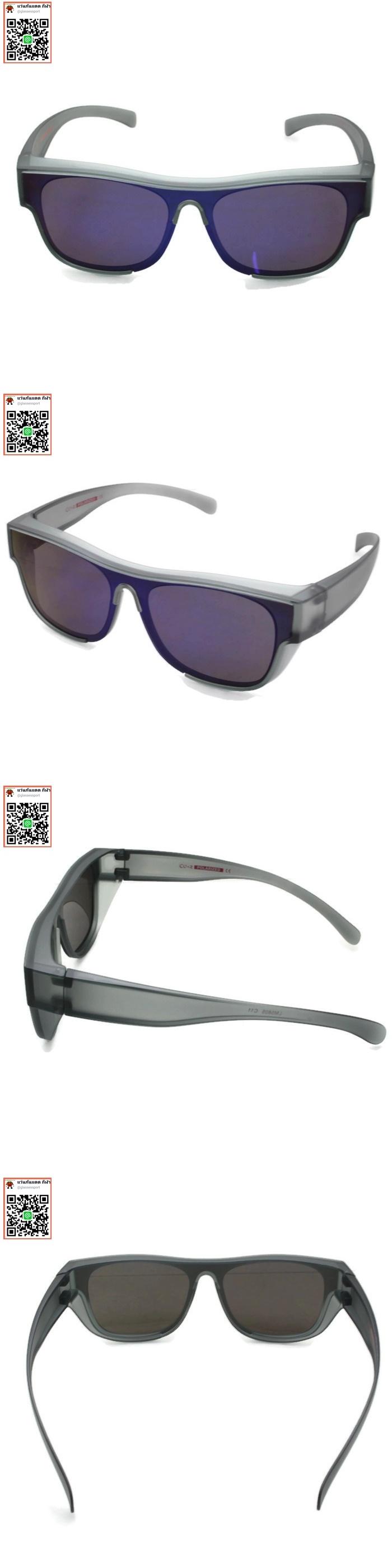 แว่นกันแดดสวมทับแว่นสายตา มาใหม่ 2019เลนส์polarized ลดแสงสะท้อน