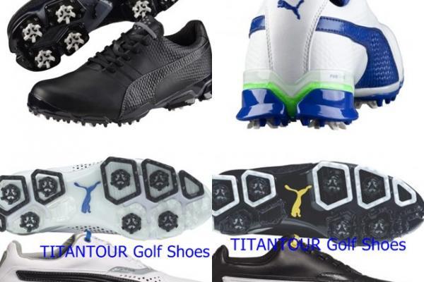 รองเท้ากอล์ฟสวย PUMA TITANTOUR IGNITE Golf Shoes มีรูป
