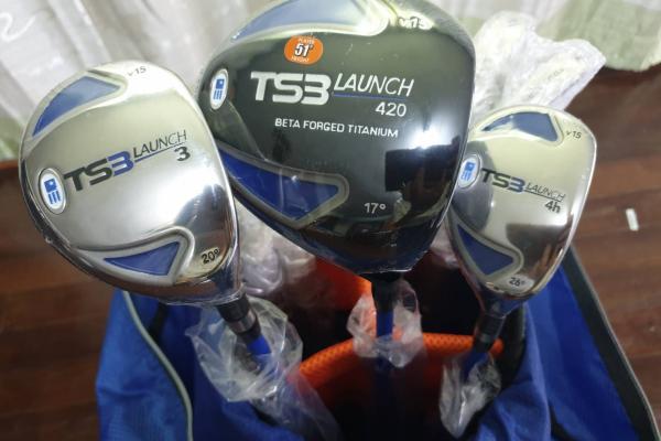 ขายของใหม่ ชุดกอล์ฟเด็ก uskids golf tour series ts3-51 club stan