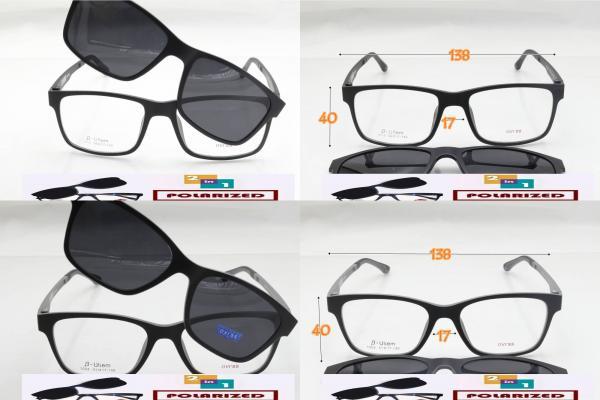 กรอบแว่นตา cooper jens 2 in 1 เป็นทั้งแว่นสายตาและเป็นได้ทั้งแว