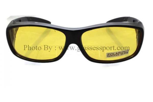 แว่นตาครอบสวมทับ NIGHT VISION POLARIZED เหมาะสำหรับกลางคืน เพิ่ม